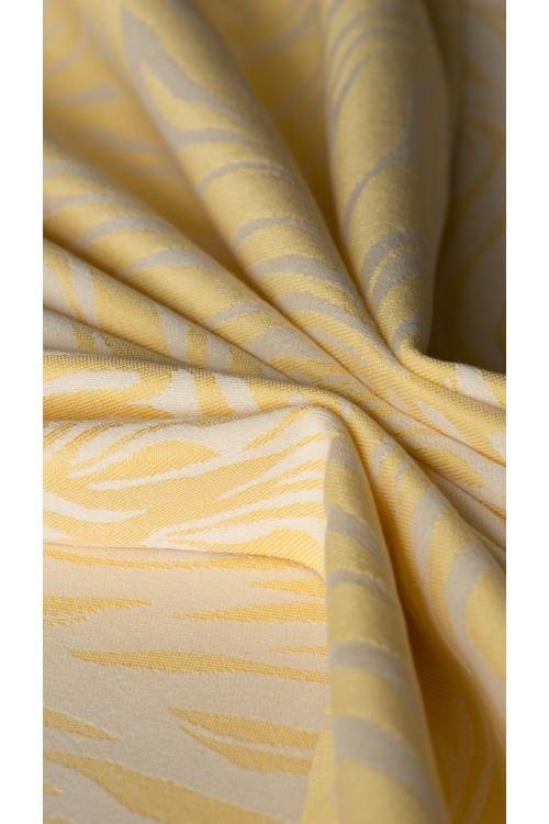 Zebra Yellow & Ecru