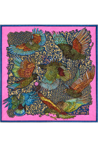 Kea Parrot Silk Scarf