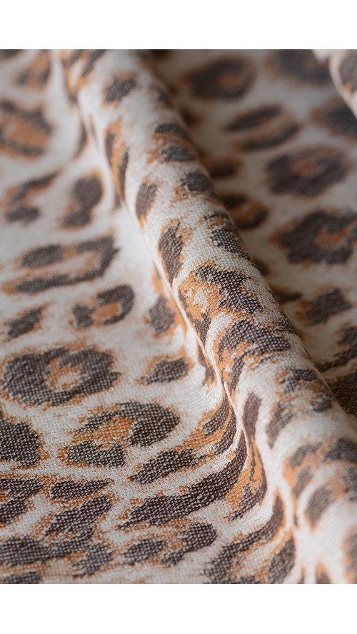 Artipoppe Satin Leopard - Baby Wrap Baby Sling Ring Sling