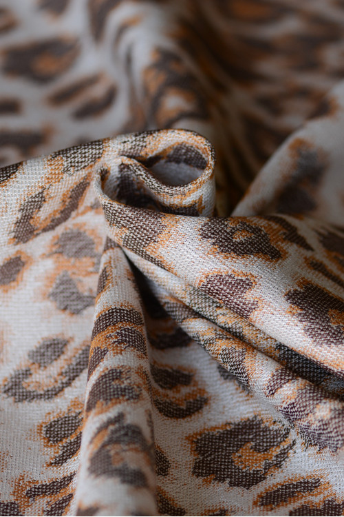 Artipoppe Satin Leopard - Baby Wrap or Ring Sling www.artipoppe.com