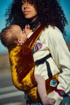 Artipoppe Zeitgeist Baby Carrier - Gold Velvet