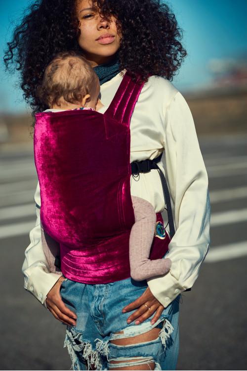 Artipoppe Zeitgeist Baby Carrier - Pink Velvet