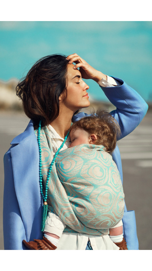 Artipoppe Argus Paradise - Baby Wrap Baby Sling Ring Sling