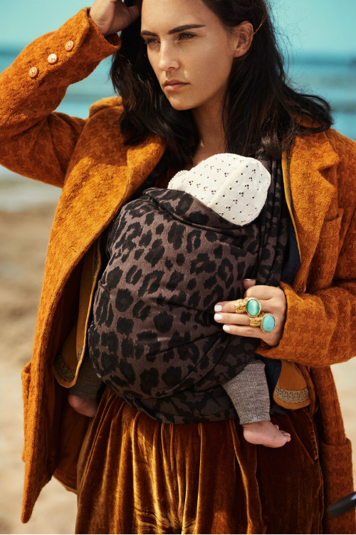 Artipoppe Leopard is a Neutral - Baby Wrap Baby Sling Ring Sling