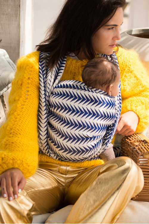 Artipoppe Arrow Rockabilly Baby Wrap Baby Sling Ring Sling