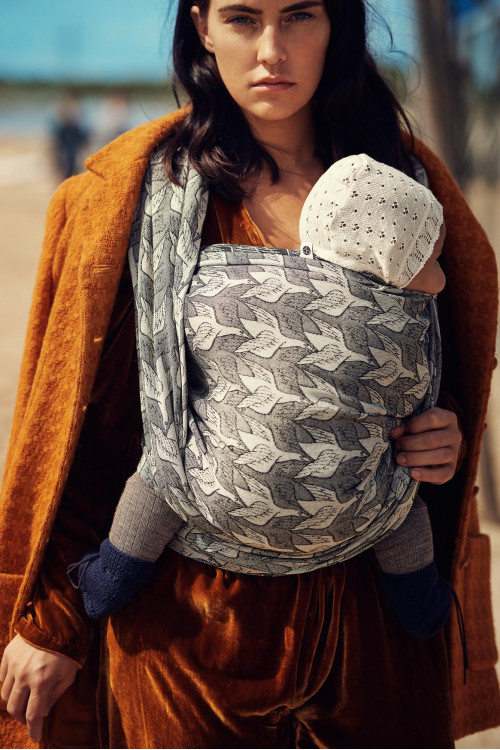 Artipoppe Two Birds Oldschool - Baby Wrap Baby Sling Ring Sling