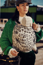 Artipoppe Silver Prince Leopard Baby Wrap Baby Sling Ring Sling