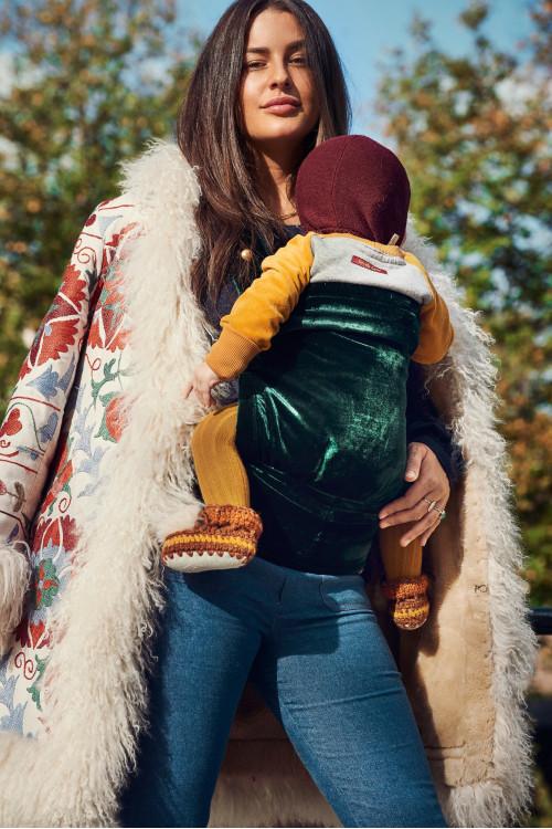 Artipoppe Zeitgeist Baby Carrier - Emerald Velvet